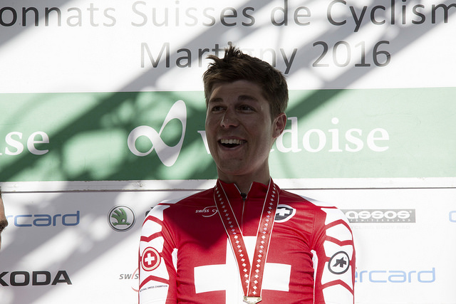 Tour de Pologne – Jonathan Fumeaux: «Montrer un maillot de champion offensif»