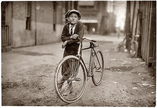 Vintage Messenger | Waco, Texas. September 1913.