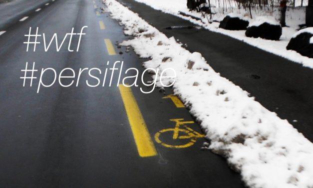 «Surpris par la présence d'un cycliste»