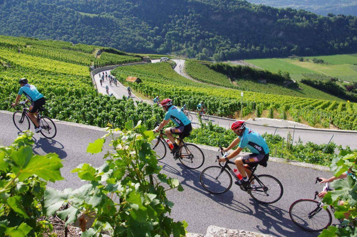Cyclosportive des Vins du Valais: le temps du changement