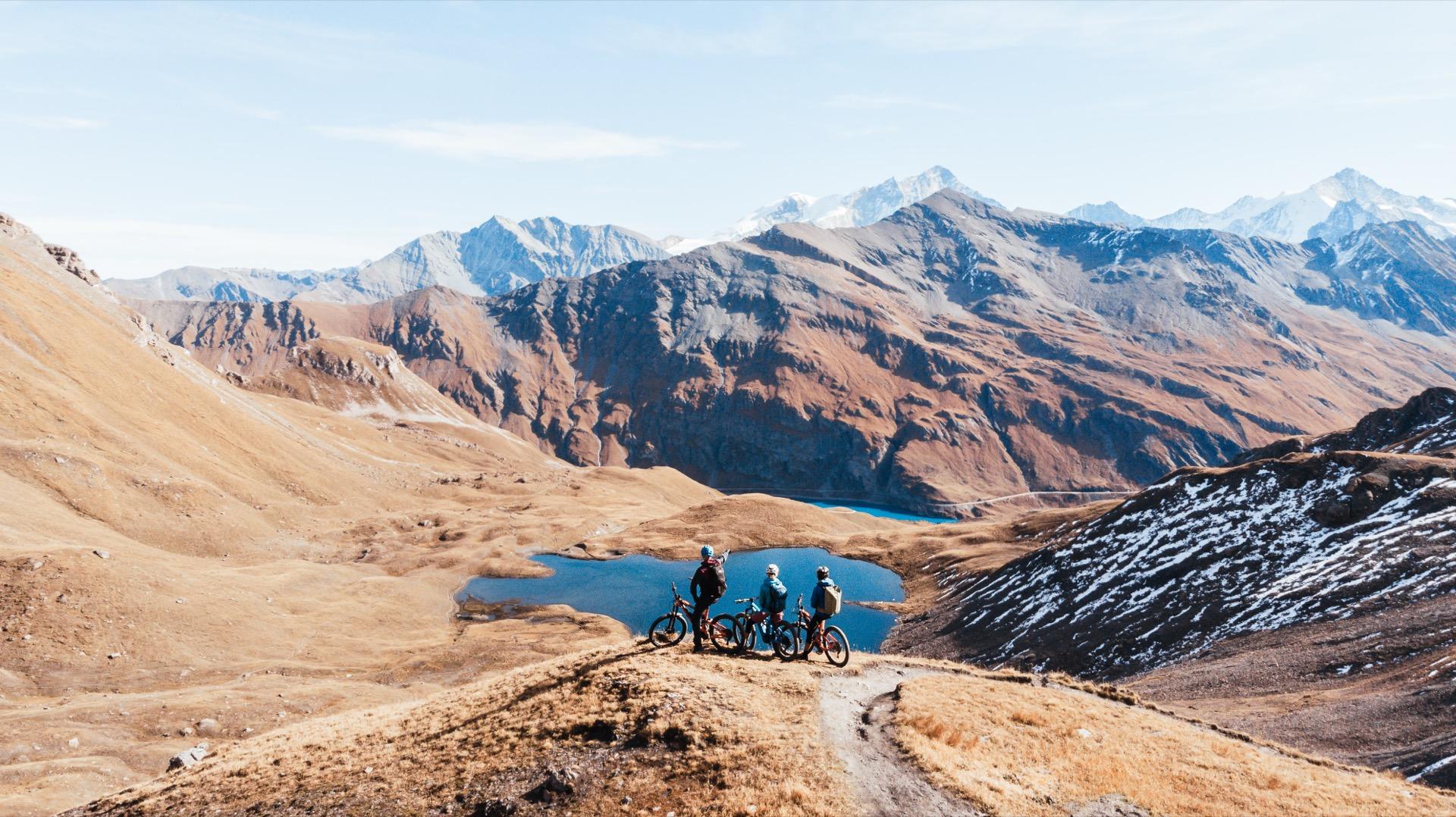 Découvrir les Alpes en e-bike