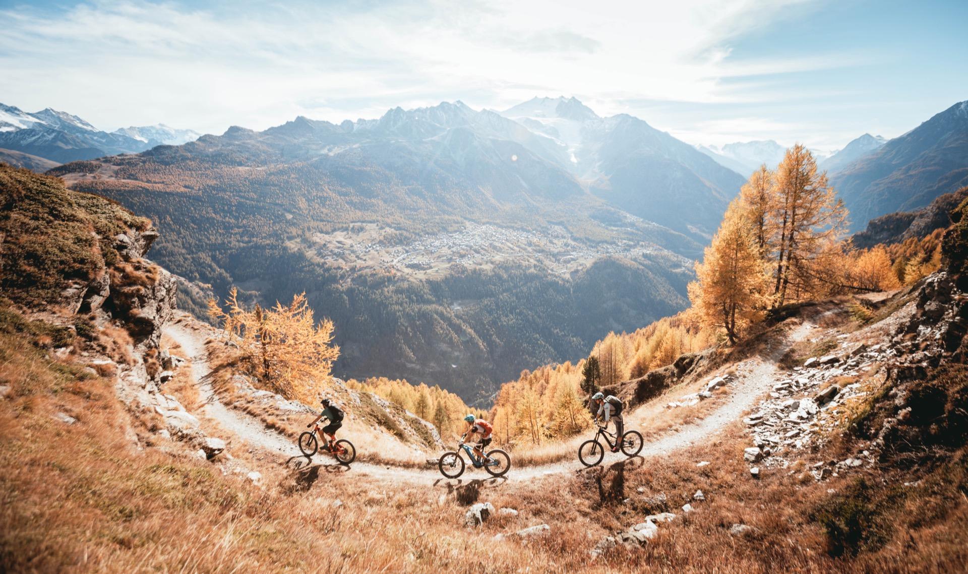 Chamonix-Zermatt à vélo, par les hauts et sans forcer
