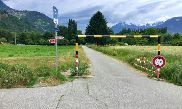 Testé pour vous: Sion – Les Îles à vélo, c'est pas jojo