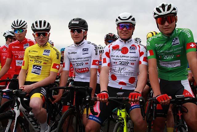 Tour du Léman juniors: la relève s'élance d'Illarsaz